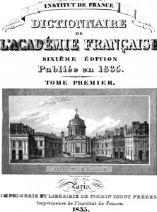 DictionaryFrenchAcademy1835